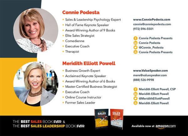 Best Sales Book Ever - Meridith Elliott Powell & Connie Podesta